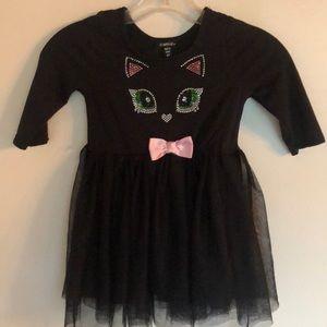 Other - Adorable Black Cat Dress 4t
